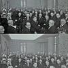 F1201b <br /> Bijeenkomst t.g.v. de plechtige opening van het gemeentehuis van Sassenheim op vrijdag 17 januari 1930.<br /> <br /> 01dhr. Baak (inspecteur hoger onderwijs)<br /> 02dhr. P.J. Vercouteren (hoofd chr. ulo-school)<br /> 03dhr. J.O. Matze (hoofd r.-k. jongensschool)<br /> 04<br /> 05<br /> 06dhr. P van Deursen<br /> 07dhr. P. le Grand (huisarts)<br /> 08<br /> 09<br /> 10dhr. O.W. der Boeuff (huisarts)<br /> 11<br /> 12dhr. A. Frijlink<br /> 13<br /> 14ds. P.D. Kuiper (geref. predikant)<br /> 15<br /> 16ds. W. G. Krijkamp (Ned.-herv. predikant)<br /> 17dhr. L. van Leeuwen jr.<br /> 18dhr. J.A.H. Thus (pastoor)<br /> 19<br /> 20dhr. J. Heemskerk<br /> 21dhr. Th. Bader Hzn<br /> 22<br /> 23pater Verhaar O.F.M.<br /> 24dhr. J. Veldhuyse (kapelaan)<br /> 25<br /> 26dhr. Los (gemeentesecretaris)<br /> 27dhr. H. Bader (wethouder)<br /> 28dhr. J.P. Gouverneur (burgemeester)<br /> 29jhr. mr.dr. H.A. van Karnebeek (Comm. der Koningin in Z-Hen  Minister van Staat)<br /> 30dhr. W. Warnaar (wethouder)<br /> 31dhr. J.M.J.H.A. Speelman (raadslid)<br /> 32dhr. H. van Zonneveld (raadslid)<br /> 33dhr. J.A.A. van der Geest (raadslid)<br /> 34dhr. A. J. Verkleij (raadslid)<br /> 35dhr. L. Bisschops (raadslid)<br /> 36dhr. K. W. van Breda (raadslid)<br /> 37dhr. A. van der Voet (raadslid)<br /> 38dhr. J. C. Schrama (raadslid)<br /> 39dhr. A. Warnaar Jzn (raadslid)<br /> 40<br /> 41<br /> 42<br /> 43<br /> 44<br /> 45<br /> 46<br /> 47<br /> 48<br /> 49<br /> 50<br /> 51dhr. J. Henkus (adviseur elektriciteitsaanleg)<br /> 52dhr. L. van Leeuwen sr.<br /> 53Henriëtte van Zonneveld, dochter van H.K. van Zonneveld.<br /> 54Kaja Warnaar, dochter van A. Warnaar Jzn