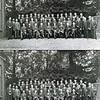 """F0143 <br /> <br /> Foto uit 1934 ter gelegenheid van het afscheid van A.Warnaar (""""Bram Politiek"""") van de A.R.-Kiesvereniging, Sassenheim (op de foto zittend in het midden van de voorste rij). A.Warnaar was raadslid in Sassenheim tot 19 juni 1934.<br /> Bij koninklijk besluit van 15 mei 1934 werd hij benoemd tot burgemeester van Hazerswoude. Hij bleef dit tot aan zijn arrestatie door de Duitsers op 30 juni 1941. Na de oorlog was hij weer burgemeester van Hazerswoude vanaf 5 mei 1945 tot en met 30 november 1947.<br /> Bij koninklijk besluit van 1 december 1947 werd hij tot burgemeester van Waddinxveen benoemd. Per 1 december 1958 werd hij eervol ontslagen.Hij overleed op 16 november 1975 op 83-jarige leeftijd.<br /> <br /> 1Aad den Hoed<br /> 2Maarten Benschop<br /> 3Bas van de Sijs<br /> 4P. Potman<br /> 5A Warnaar<br /> 6Adriaan Vogelaar<br /> 7Henk van Zonneveld<br /> 8Willem Warnaar<br /> 9Jan Wiepkema<br /> 10dr.P. le Grand<br /> 11ds. Pieter Dinus Kuijper<br /> 12Piet Luijk<br /> 13Bas van Steensel<br /> 14Willem Verhoog<br /> 15Piet Benschop<br /> 16Jan Moolenaar Pzn<br /> 17Gerrit Kruik<br /> 18Jan Benschop<br /> 19Jacob Krösschell<br /> 20Johannes van Nieuwkoop<br /> 21Jacob Duindam<br /> 22Jacob Bette<br /> 23Dirk Kruit<br /> 24Piet Nicola<br /> 25Jozua van Ginhoven<br /> 26kapper Jan de Jong<br /> 27W. van Diggelen<br /> 28J.H. Perfors<br /> 29Klaas van der Kwaak<br /> 30nb<br /> 31Gerrit Zandbergen<br /> 32Siem de Ridder<br /> 33Jacob van Nieuwkoop<br /> 34A. 't Hart<br /> 35Klaas Honders<br /> 36Bart Moolenkamp<br /> 37Henk Noort<br /> 38J. Dreef<br /> 39Cees Cusell<br /> 40Anton Bergman<br /> 41Leen van Leeuwen jr.<br /> 42Huib van Ginhoven<br /> 43Hendrik Lucas Boter<br /> 44Eef  Krösschell<br /> 45Piet Kouwenhoven<br /> 46G.M. Broekstra<br /> 47Adriaan Luyk<br /> 48Piet van der Heiden"""