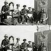 """F1734<br /> Op 31 augustus, Koninginnedag 1945 werd er een optocht ter gelegenheid van de bevrijdingsfeesten gehouden, waar half Sassenheim aan meedeed, alles wat er in de 5 oorlogsjaren was gebeurd werd uitgebeeld. Deze wagen  heet """"clandistien luisteren""""<br /> <br /> 01<br /> 02<br /> 03<br /> 04<br /> 05<br /> 06<br /> 07 Casper Verlint<br /> 08"""