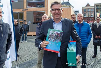 nederland 2018, groningen, grote markt, let's gro, stadse fratsen
