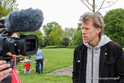 nederland 2013, groningen, leliesingel, noorderburen, beno hofman
