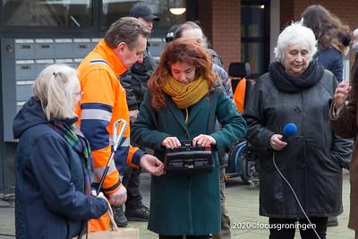 nederland 2020, groningen, goudlaan, eerste containertuin groningen, marjet woldhuis