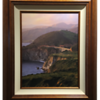 Hurricane Point in Copper frame (as in gallery)