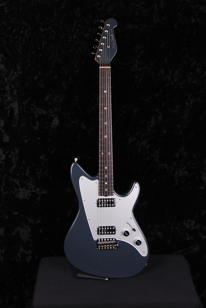 Don Grosh Reserve PlexiJet in Charcoal Frost Metallic, TV Jones Pickups