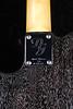 Don Grosh Reserve PlexiT in Black with White Grainfill, TV Jones Pickups