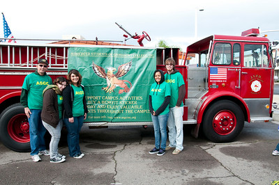 Grossmont College at Mother Goose Parade