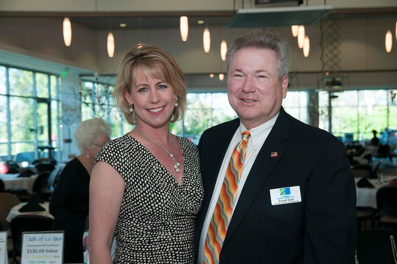 Karen Cook and Ernest Ewin