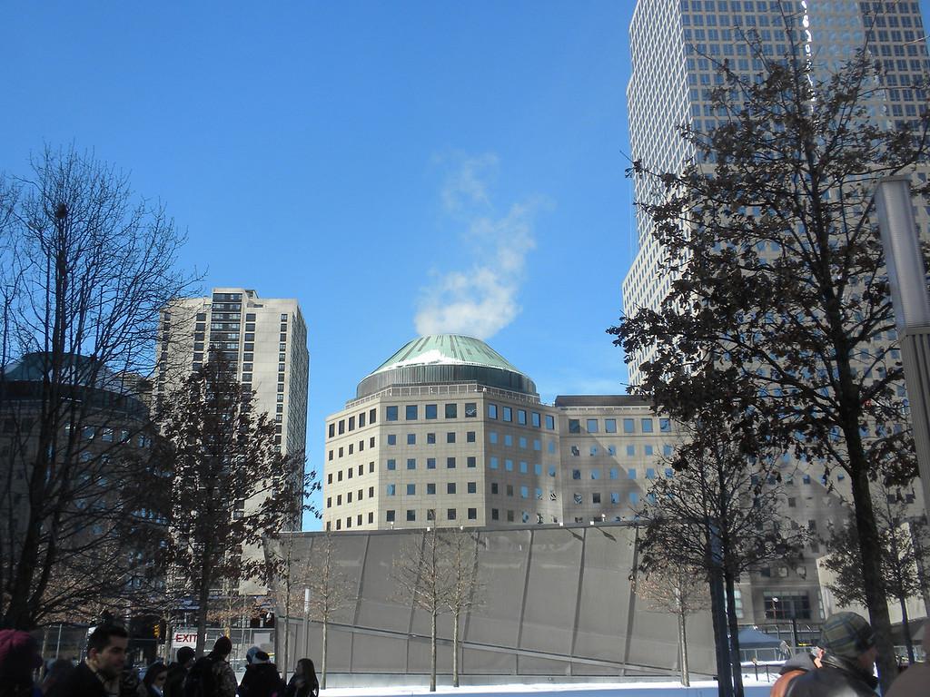 Buildings around the Ground Zero 911 Memorial