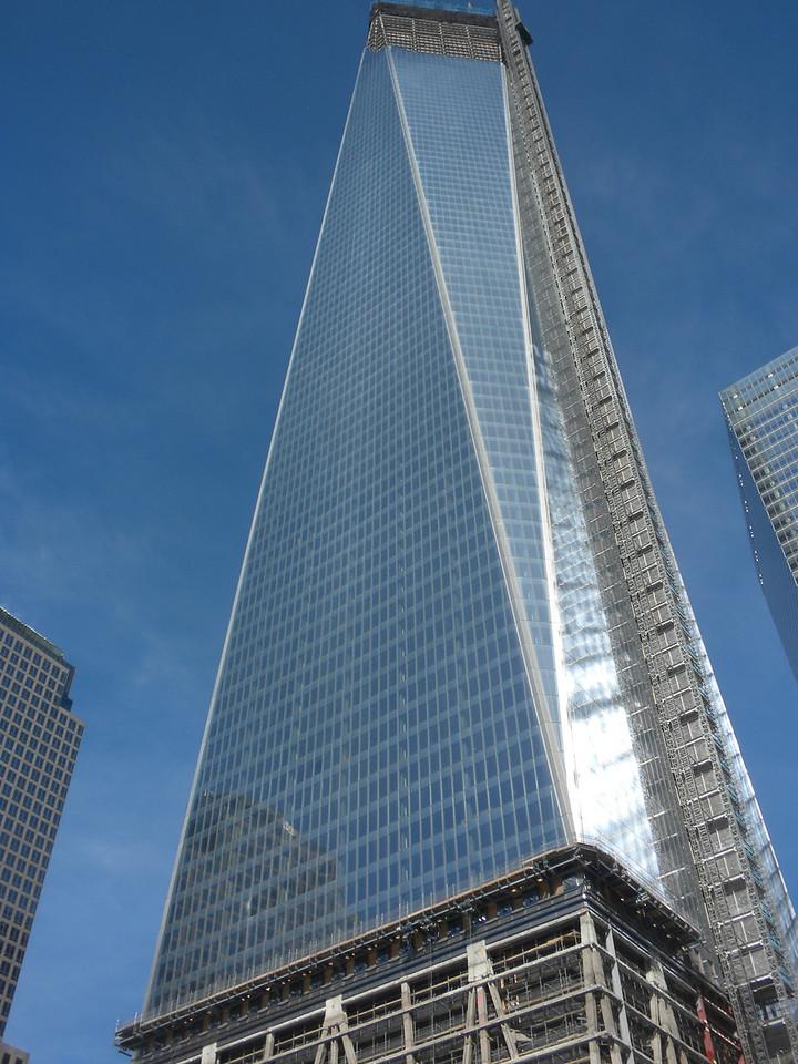 Buildings around the 911 Ground Zero Memorial