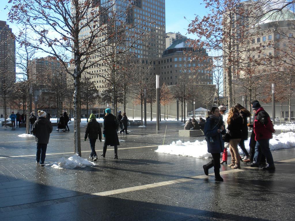 Ground Zero, 911 Memorial