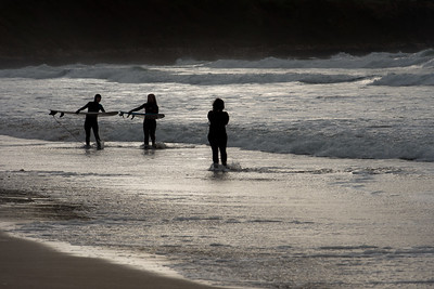 NEWQUAY SURFERS