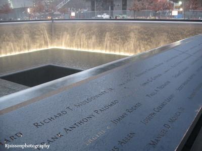 Ground Zero 911 Memorial