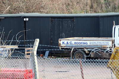 Grounded Non Vent Vans along with 3 others at K+C Roofing, off Stratford Road, Sandy behind the Station 19/01/14.  Update.. As of 2021 these have been scrapped