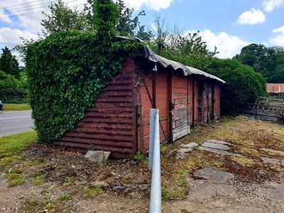 5xxxx x 2, LMS Vent Van - Plank at Bulmer Tye, Bulmer Tye House, Nth side A131, Essex     30/06/19