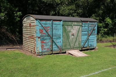 B7xxxxx 12t Vent Van Planked at Feering Cricket Club, Rye Mill Lane, Feering, Essex     30/06/19