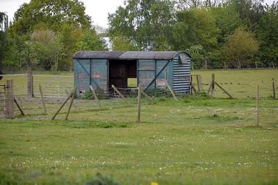 B7xxxxx 12t Vent Van 'Plank', Brittain Pit Farm, Butterley    13/05/17