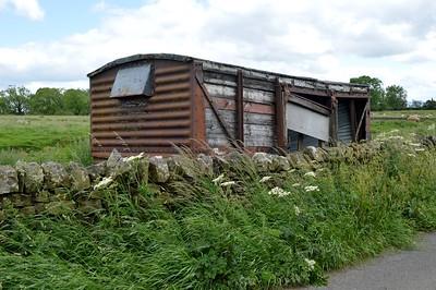 50xxxx LMSR 12t Vent Van, North east of village, Birtley, Northumberland   24/06/17