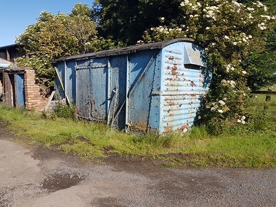 B85xxxx 12t Vent Van, Ulgham Fence Farm, Ulgham, Northumberland   24/06/17