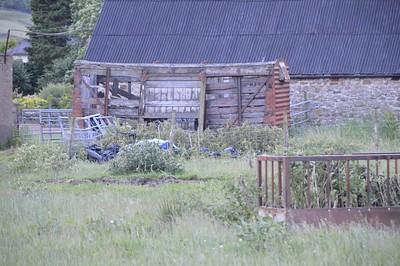 50xxxx 12t Vent Van Plank, East side of minor road, Wearhead, County Durham   24/06/17
