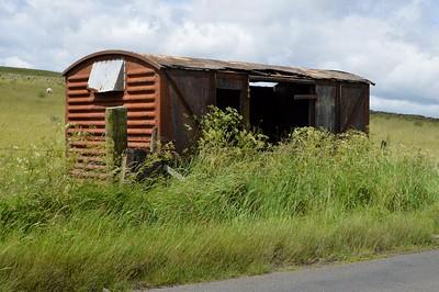 B8550xx 12t Vent Shocvan, Ply, B6320 side of road, Bellingham, Northumberland   24/06/17