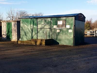 Unknown 12t Ventilated Van, Hempland Lane Allotments, Hempland Lane, Heworth, York, North Yorks, YO31 1AS