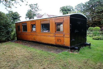 Ex GER No5 Directors Saloon grounded at a private location in Tewin, Herts 15/08/12.
