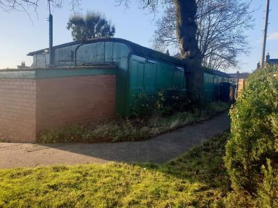 Unknown NER Bogie Brake Third, York Bowls Club, Trenfield Court, Ashton Lane, York, North Yorks, YO24 4HX,   30/12/19