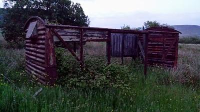 B7xxxxx 12t Vent Van (Derelict), Nth side of Neath Road, B4282, Maestag, Bridgend   14/06/14