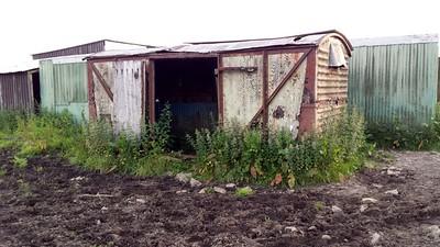 B7xxxxx 12t Vent Van Ply, On a Farm, Bwlch Road, Brynbryddan, Baglan,  Neath Port Talbot     14/06/14