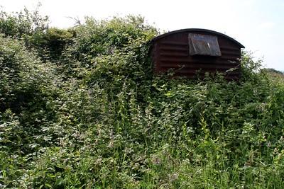 Unknown 12t Vent Van Plank, South side of Cefn Road, B4281, Cefn Cribwr, Bridgend    15/06/14