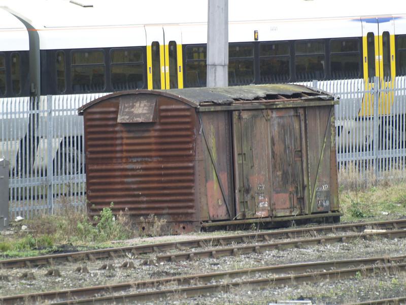 Grounded van 783962 is seen in Tonbridge Yard on 13/11/10