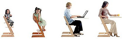 grow-with-me chair by Stokke
