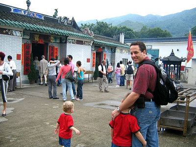 a local temple to tourist attraction site. or travel: change prespective of the world kenneth