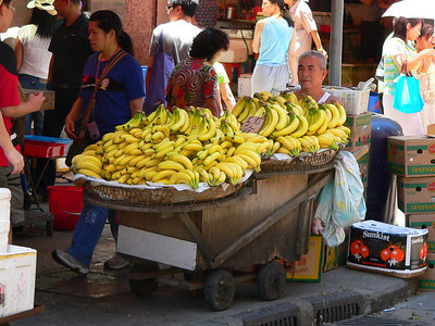 Bananas on wheels!  ready to run, and escape. try not to get caught. kenneth