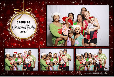 Group 70 Christmas Party (Fusion Portraits)