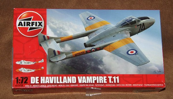 Vampire T.11 RAF