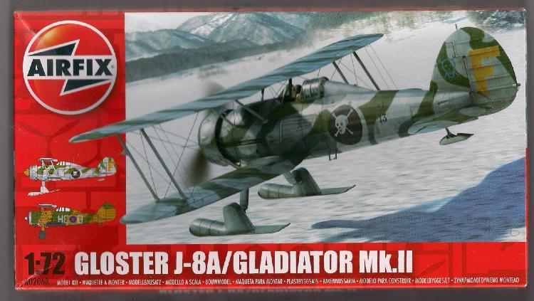 Airfix Gladiator J8A