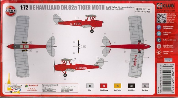 Airfix Tiger Moth