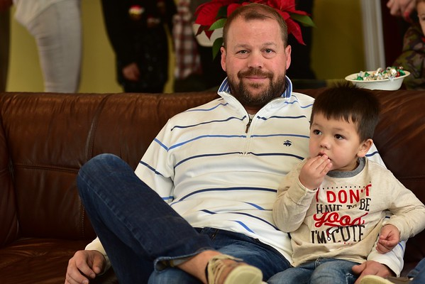 Berger's Christmas with Santa