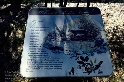 Five-mile hike on the Los Gatos Creek Trail, Los Gatos, California