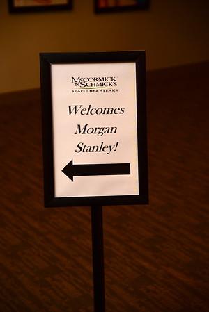 Morgan/Stanley Work Party