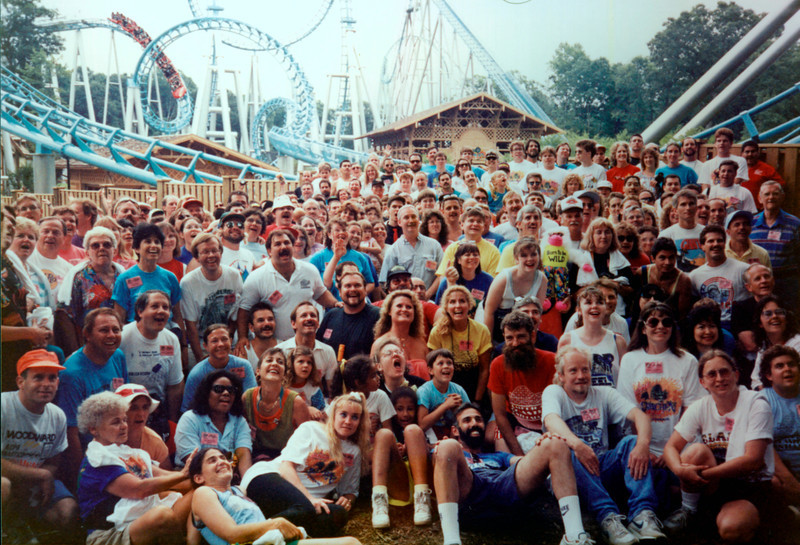 Coaster Con XV, add-on day held at Busch Gardens Williamsburg.<br /> Photo by Marlon Scott.
