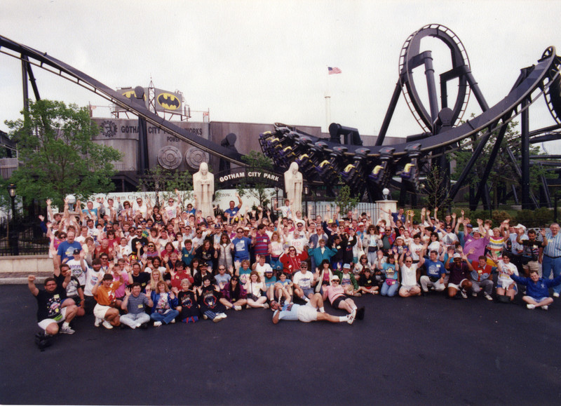 Summer Conference, held June 18–20, 2003, at Kiddieland, Hillcrest Park and Six Flags Great America.<br /> Photo taken at Six Flags Great America.