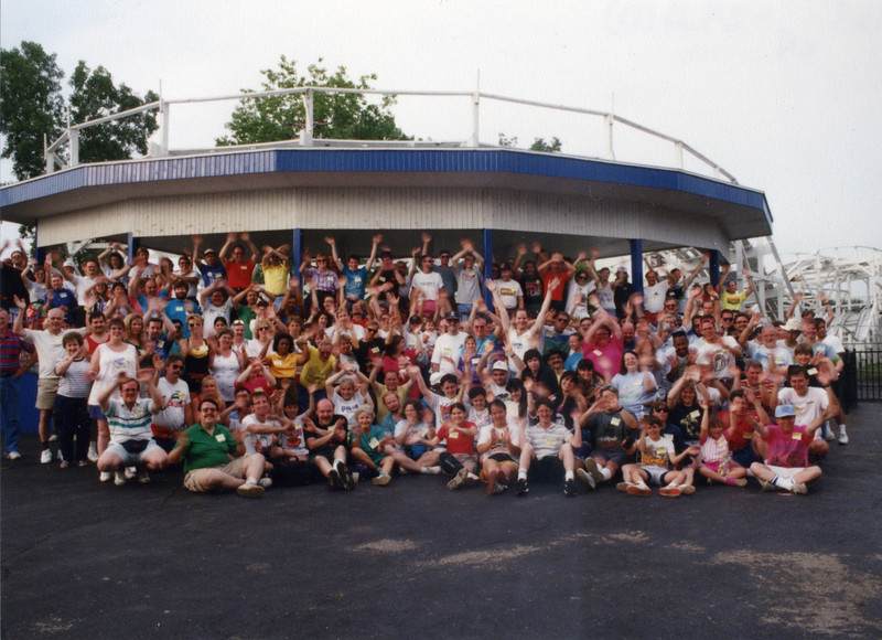 Summer Conference, held June 18–20, 2003, at Kiddieland, Hillcrest Park and Six Flags Great America.<br /> Photo taken at Hillcrest Park.