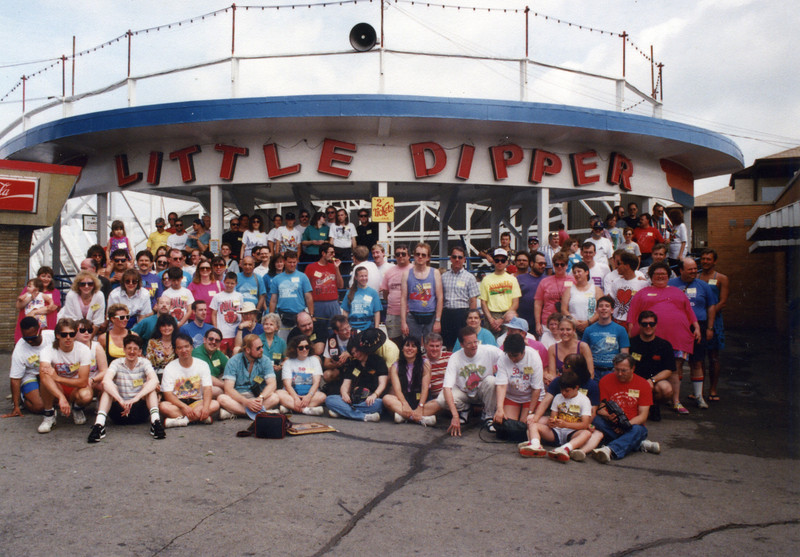 Summer Conference, held June 18–20, 2003, at Kiddieland, Hillcrest Park and Six Flags Great America.<br /> Photo taken at Kiddieland.