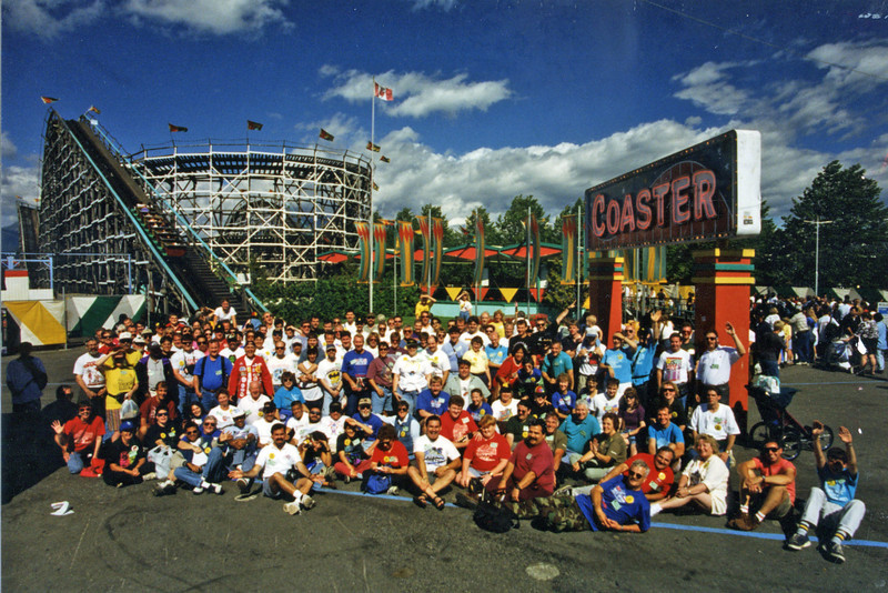 Summer Conference, held August 31–September 2, 1996, at Playland and the Western Washington (Puyallup) Fair.<br /> Photo by Jess Novak, taken at Playland.