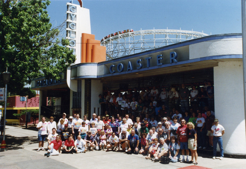 Coaster Con XIX, held June 1–3, 1996, at Lakeside Amusement Park.<br /> Photo by Tim Baldwin