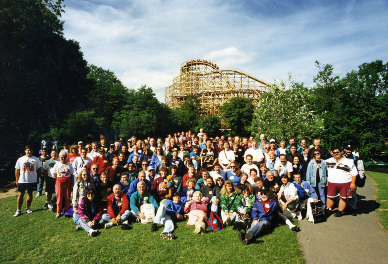 ACE U.K. Preservation Tour, held July 5–14, 1996. <br /> Photo taken at Oakwood Leisure Park by Tim Baldwin