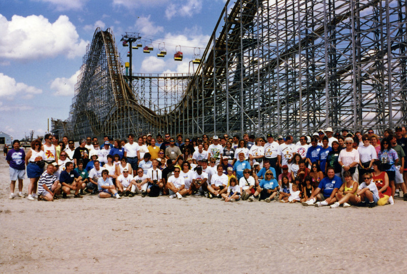 Summer Conference, held August 21–-24, 1997, at Morey's Piers, Wild Wheels Pier, Mariner's Landing and Clementon Lake.<br /> Photo, taken at Wild Wheels Pier, by Bruce Cassi.