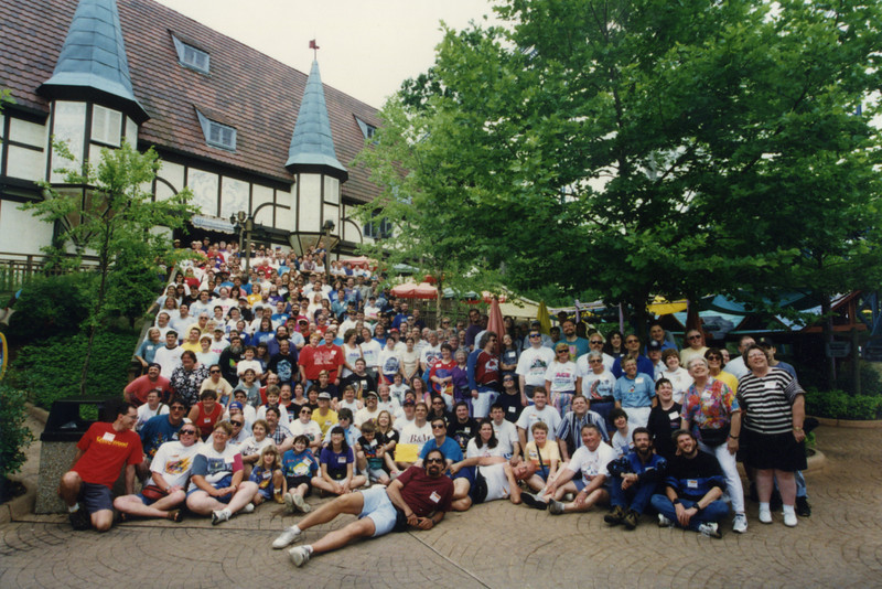 Coaster Con XX, held June 8–13, 1997 at Busch Gardens Williamsburg and Kings Dominion.<br /> Photo by Paul Taverna, taken at Busch Gardens